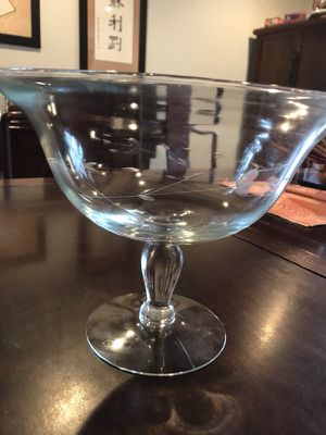 Princess House Crystal Bowl