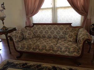 Antique Duncan Phyfe Style (1930s) Sofa