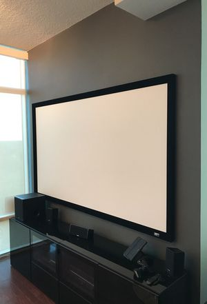 100 inch projector screen
