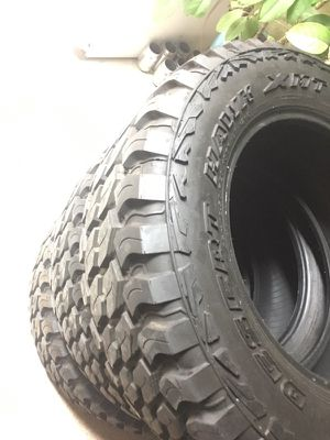 5 Mud terrain tires for sale