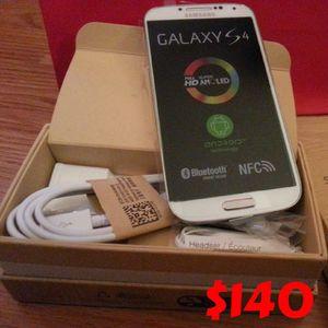 Samsung Galaxy S4 - Factory Unlocked - Comes w/ Box + Accessories