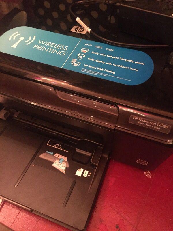 how to fix a hp photosmart c4780 printer