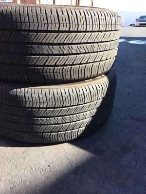 Have 2 pair vary good Goodyear used Tire 235/50/R18