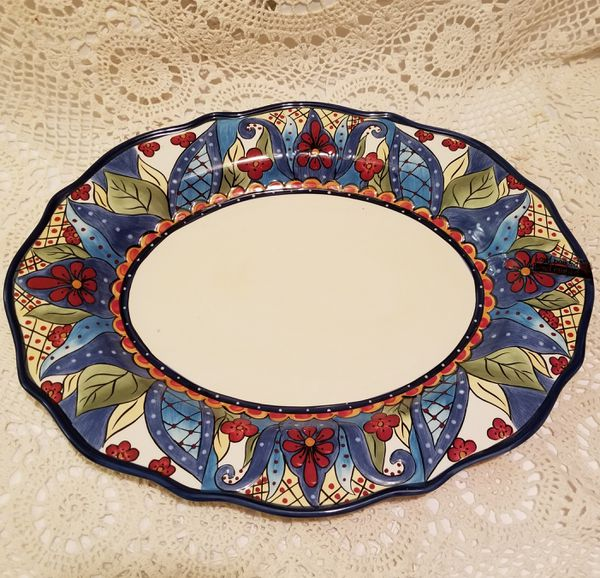 Espana Lifestyle Toluca Serving Platter (Collectibles) in Fort ...