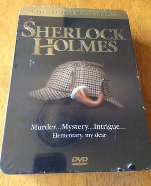 Sherlock Holmes collectors edition 5 pack DVDs