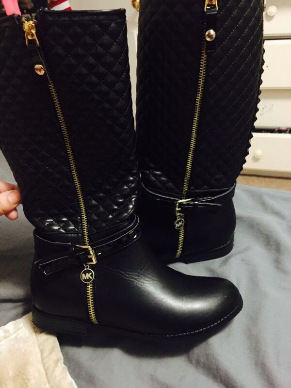 Michael Kors Girls Boots (Size 4) ( Baby & Kids ) in Sunnyvale, CA ...