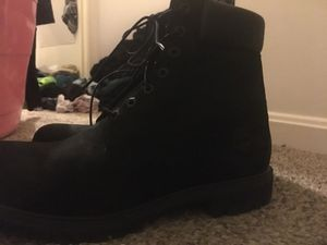 Seude black timbs