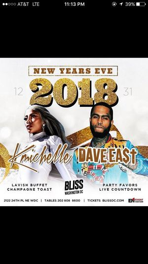 Dave East & K.Michelle Live in Concert New Years Eve