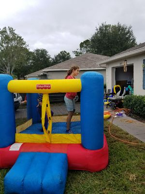 Boxing ring/ bounce house