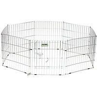 2 fence gate/crate for dogs
