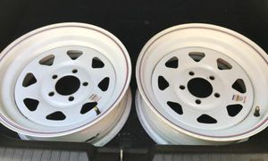 2 Rims For Trailer