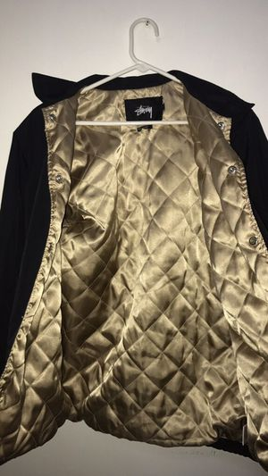Limited edition stussy coat (Golden Interior)