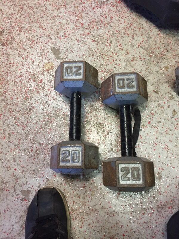 20lb Dumbbells General In Arlington Heights Il Offerup