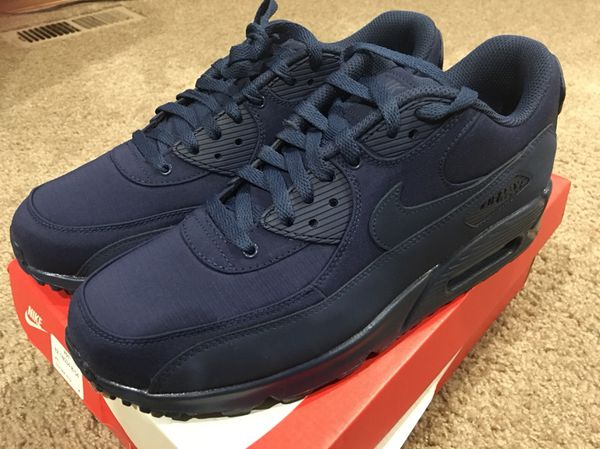 NIKE AIR MAX 90 ESSENTIAL MIDNIGHT NAVY/MIDNIGHT NAVY SZ MEN'S 11.5  537384-419 (Clothing & Shoes) in Des Moines, WA