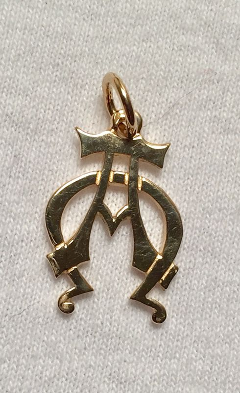 James avery 14k alpha omega pendant rare jewelry accessories james avery 14k alpha omega pendant rare mozeypictures Gallery