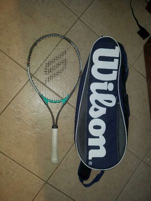 Two tennis rackets/bags