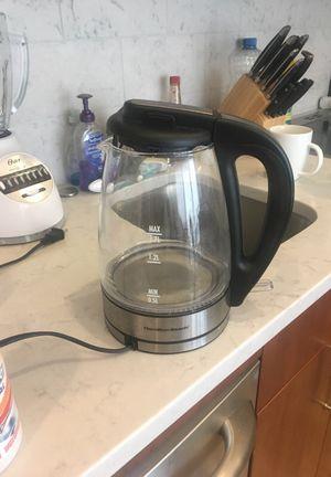 Hamilton beach tea kettle
