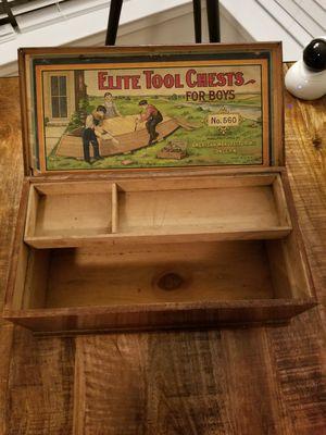 1930S'-40S Toy Tool Box