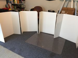 Heavy duty tri fold project boards — great for science projects!