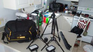 Canon t5i and lots of accessories