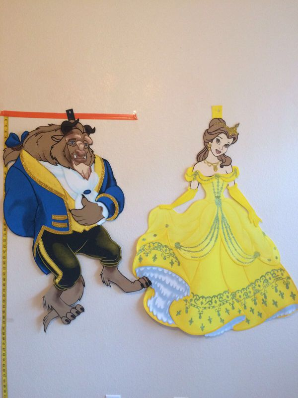 Dorable Beauty And The Beast Wall Decor Crest - Wall Art Collections ...