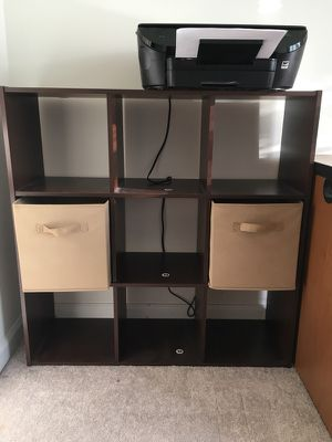 9 hole cubby bookshelf
