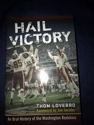 Book, Washington Redskins' Hail Victory!