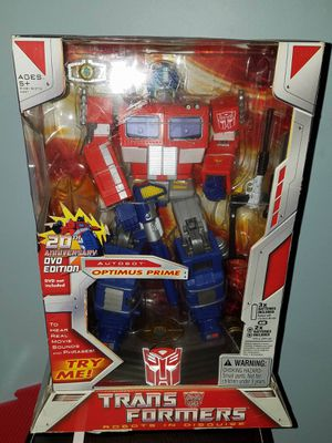 Classic transformer 20th anniversary collectable