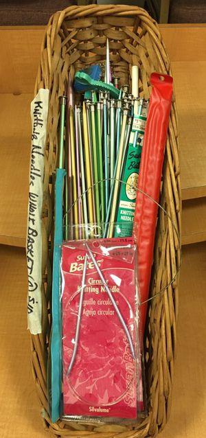 Knitting Needles - Basket Full !!!!