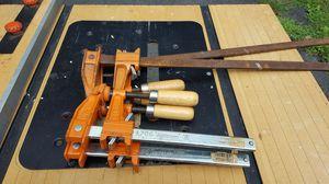 4 Jorgerson bar clamps. Excellent condition.
