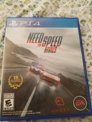 Need for speed rivals video games