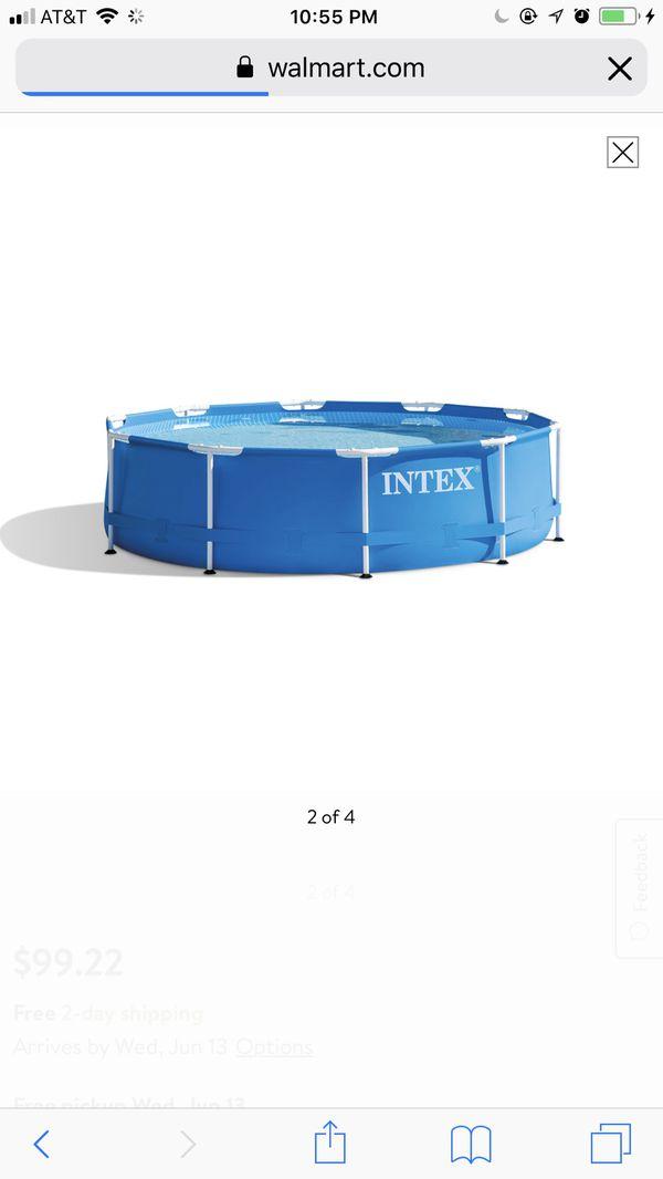 Wunderbar Intex 12ft Metallrahmen Pool Cover Fotos - Rahmen Ideen ...