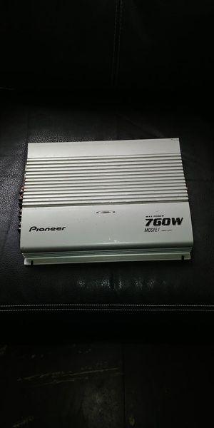Pioneer MAX. Power 760 watts mosfet