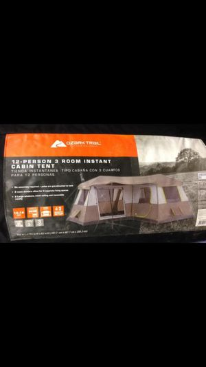12 person instant tent