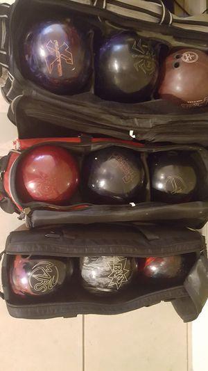 Bowling balls 14/15lb