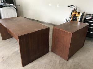 HEAVY Wooden Executive Desk