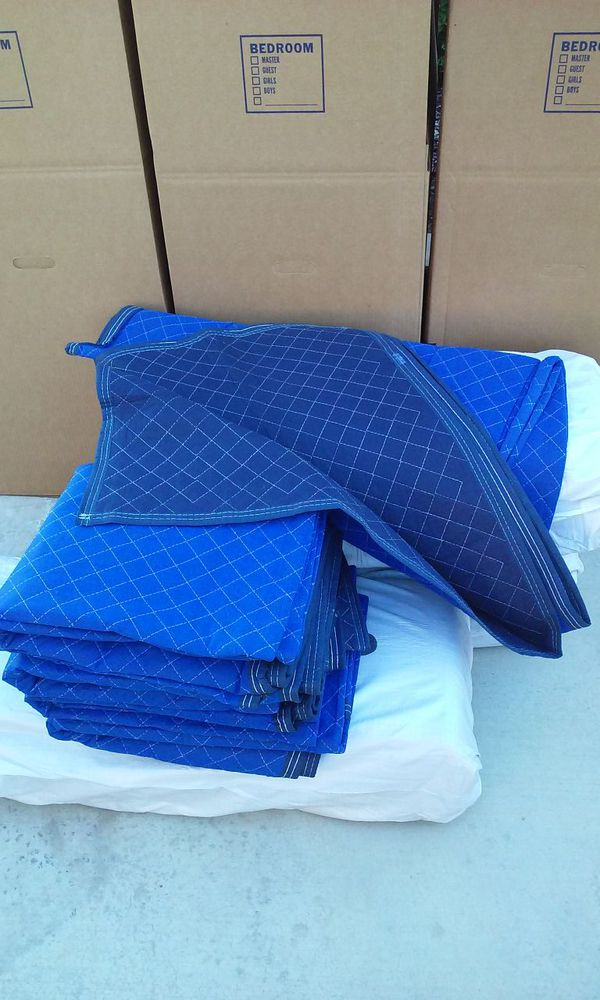 NEW MOVING BLANKETS MOVING PADSFURNITURE PADS Full - Furniture pads for moving
