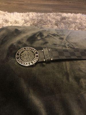 Louis Vuitton Damier belt