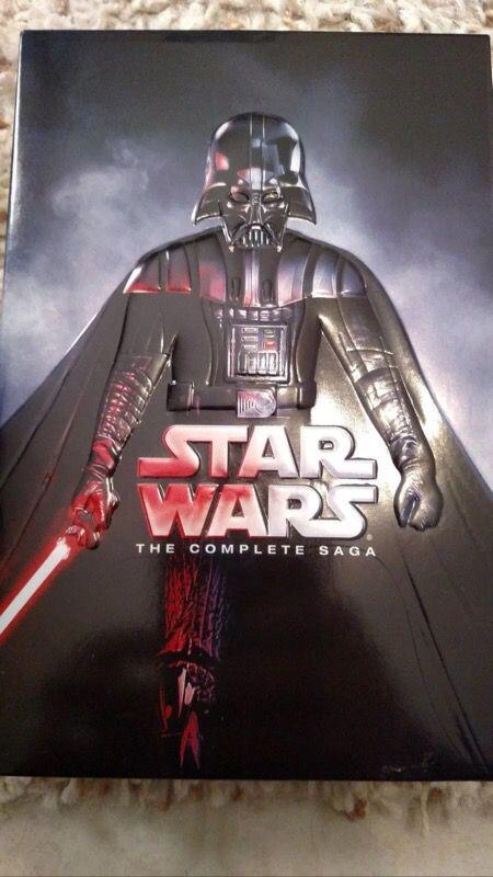 star wars complete saga 12 dvd set cds  dvds in