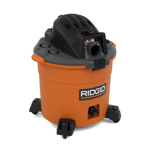 Ridgid WD1636 16-gal. 5-Peak HP Wet/Dry Vacuum with blower