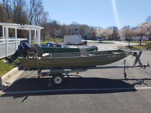 14 ft lowe John boat