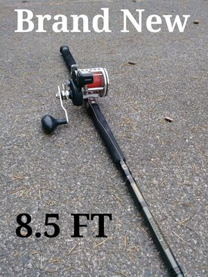 8.5 Foot Fishing Pole With Depth Counter