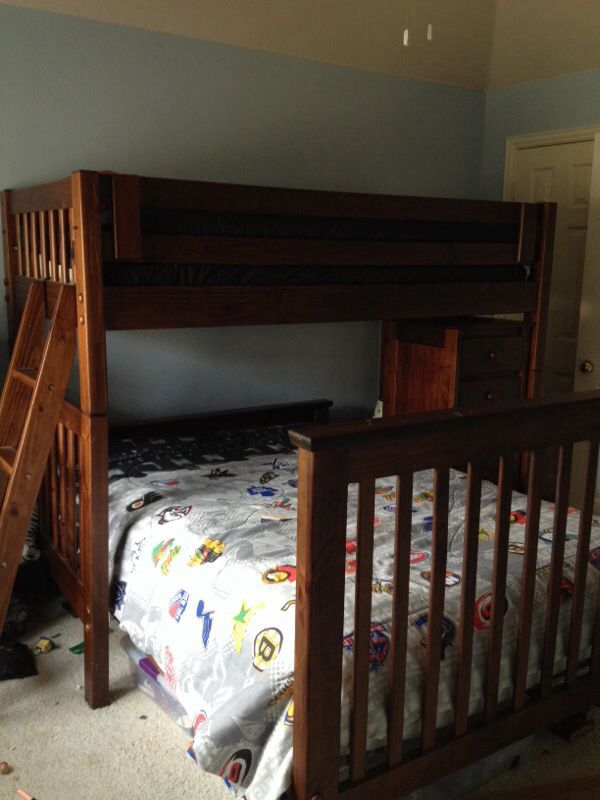 Bunk Bed and Dresser by Cargo Kids Furniture in Plano TX OfferUp