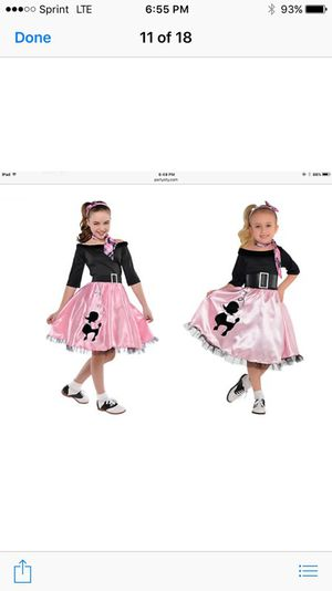 Miss sock hop custume