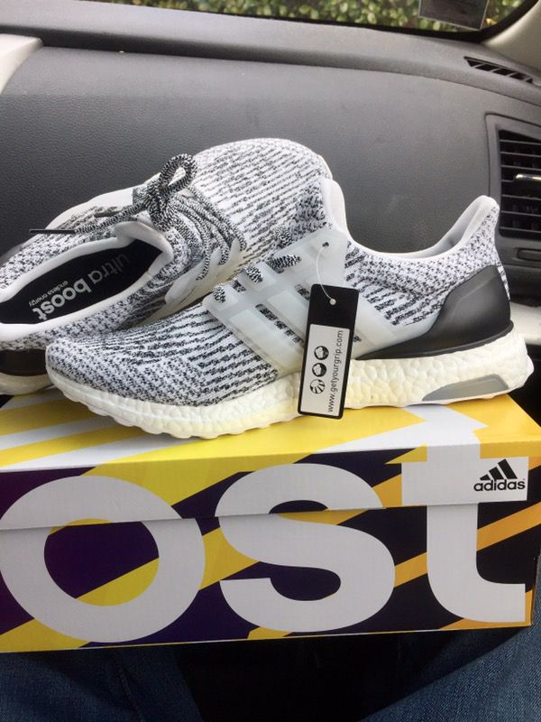 Adidas Ultra Boost 3.0 Crystal White $210 Last Sale