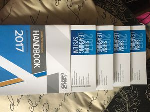 SHRM Learning System books for SHRM exam