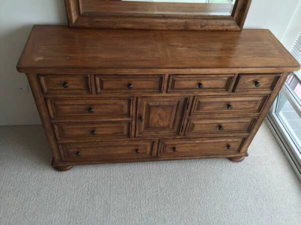 lane all wood bedroom set furniture in glenview il offerup