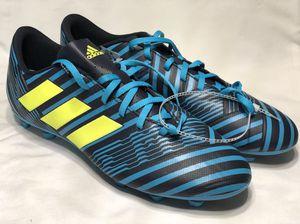 adidas Nemeziz 17.4 FXG Legend Ink Solar Yellow Blue Mens 11.5 Soccer