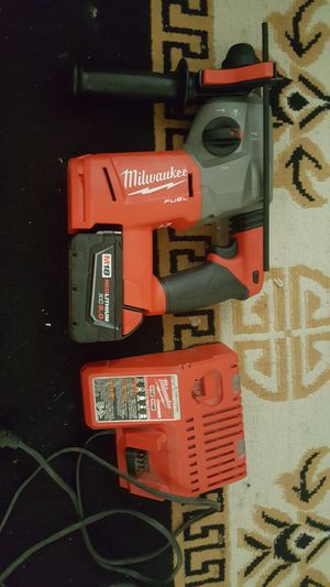 Rotary hammer drill milwuakee fuel brushless