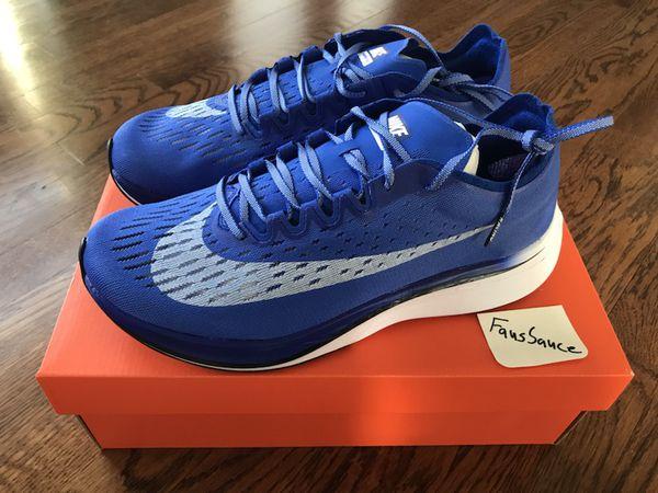 Nike Zoom Vaporfly 4% Hyper Royal Blue US 9.5 Deadstock/New